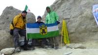 Valaši dobyli nejvyšší horu Iránu - Damavand - 5620 m n.m.
