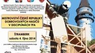 Přijďte se na Trúbu podívat na Mistrovství ČR dobrovolných hasičů a na noční prohlídku