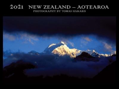 NEW ZEALAND - AOTEAROA 2020 - 2021 dvouletým kalendářem si uděláte radost